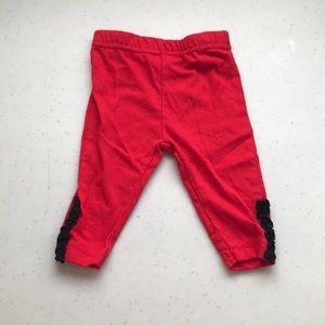 5/$25 BUSTER BROWN Pants/leggings Ankle Ruffle